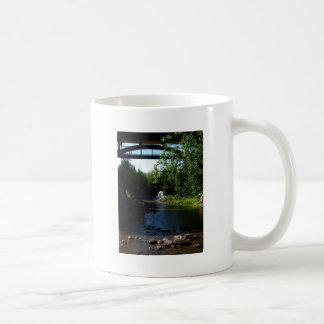 Majestic Waterfall at Gooseberry Falls - Nature Basic White Mug