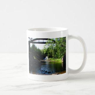 Majestic Waterfall at Gooseberry Falls – Nature Coffee Mug