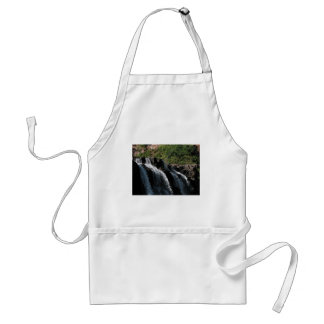 Majestic Waterfall - Gooseberry Falls by the Trees Adult Apron