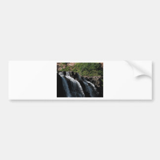 Majestic Waterfall - Gooseberry Falls by the Trees Bumper Sticker