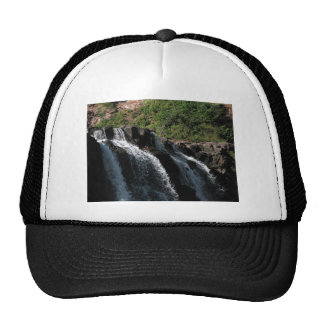Majestic Waterfall - Gooseberry Falls by the Trees Cap