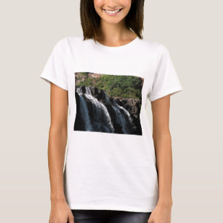Majestic Waterfall - Gooseberry Falls by the Trees T-Shirt