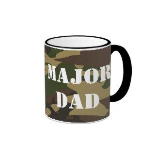 Major Dad, Camo Military Father Mug