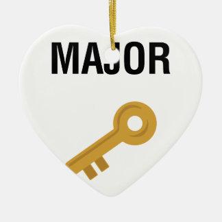 Major Key Christmas Ornament