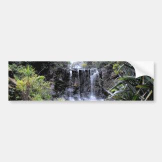 Makaroa Waterfall Car Bumper Sticker