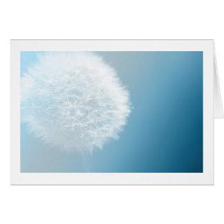 Make A Wish Dandelion Greeting Card