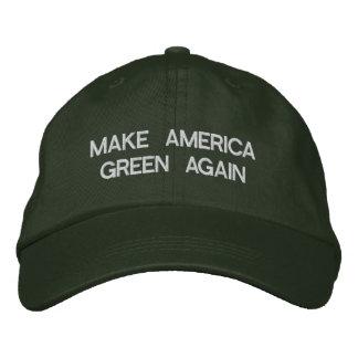 Make America Green Again Embroidered Hat