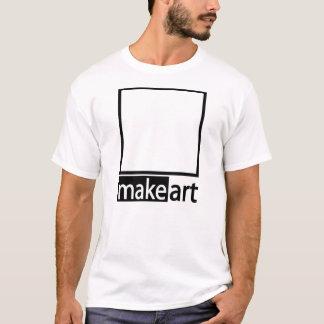 Make Art - Doodle shirt