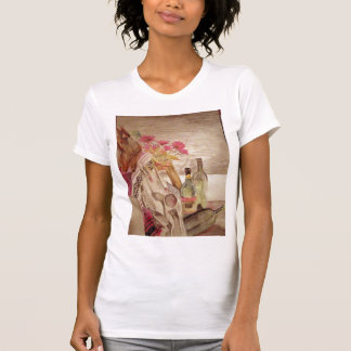 make art - still life tee shirt