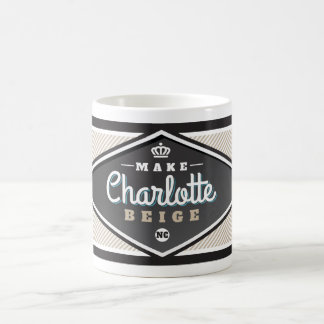 MAKE CHARLOTTE BEIGE COFFEE MUG
