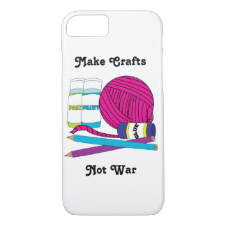 Make Crafts Not War Personalise iPhone 8/7 Case