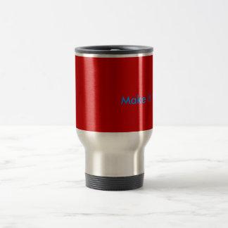 Make it HOT !!! Stainless Steel Travel Mug