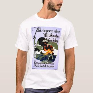 Make New Orleans Safe 1943 WPA T-Shirt