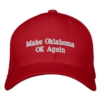 Make Oklahoma OK Again Baseball Cap