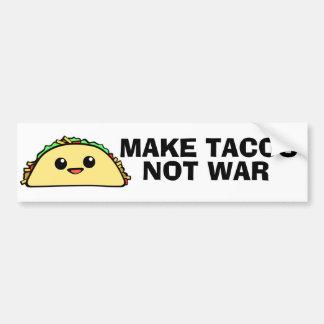 Make Tacos Bumper Sticker