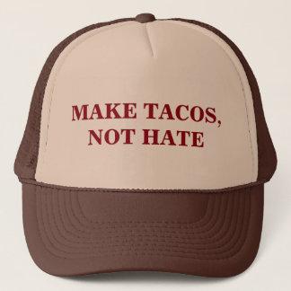 Make Tacos, Not Hate Trucker Hat