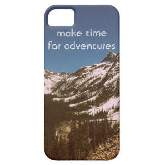 Make Time For Adventures Barely There iPhone 5 Case