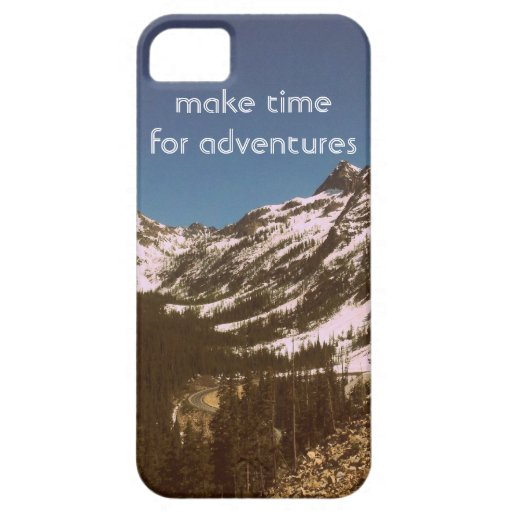 Make Time For Adventures iPhone 5 Case