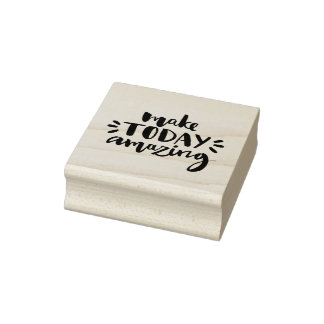 Make Today Amazing 2 Rubber Stamp