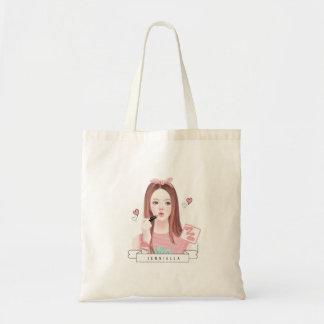 Make up Jennie tote bag