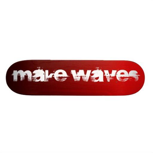 Make Waves Tequila Sunrise Skateboard