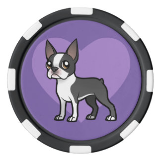 Make Your Own Cartoon Pet Poker Chips Set