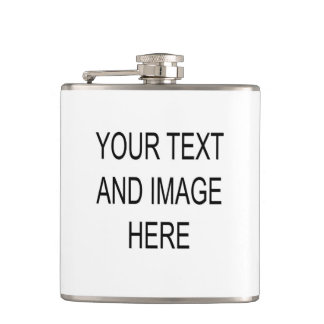 Make your own custom personalised flask