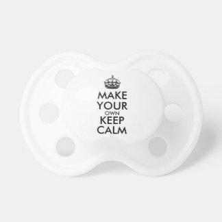 Make your own keep calm - black dummy