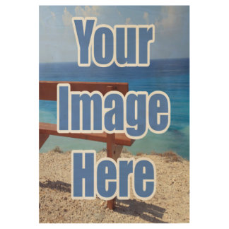 Make your own personalized wood poster