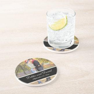 Make Your Own Wedding Photo Keepsake Coasters
