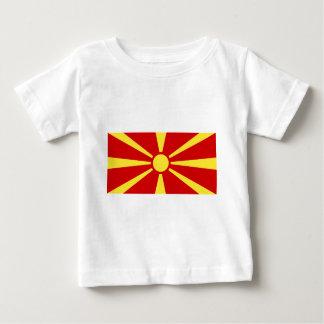 Makedonija zastava baby T-Shirt