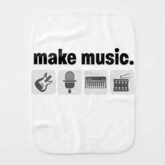 MakeMusic Burp Cloth