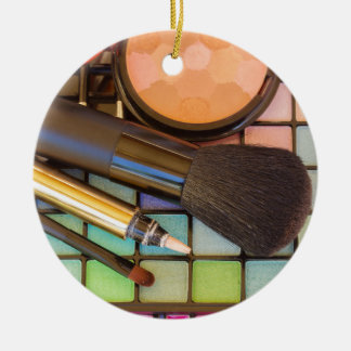Makeup Artist Christmas Ornament
