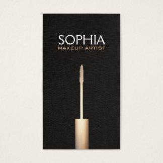 Makeup Artist Faux Gold Foil Mascara  Logo