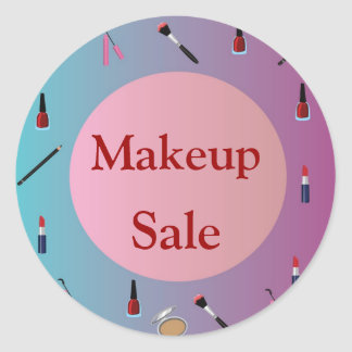 Makeup> Sales Sticker
