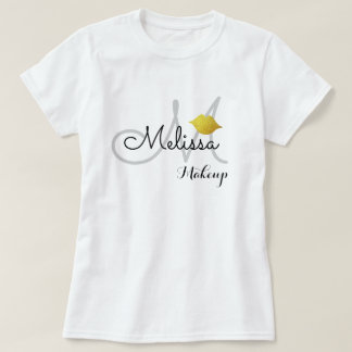 makeup salon uniform (or for personal use) white T-Shirt