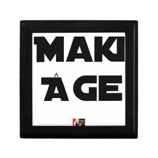 MAKI AGE - Word games - François City Gift Box