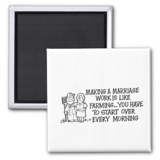 Making a Marriage Work Magnet