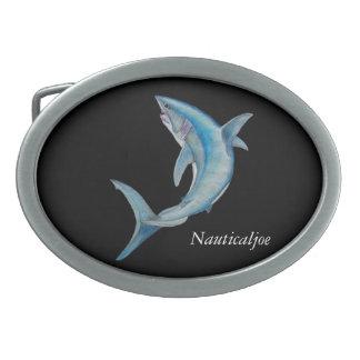mako shark belt buckle