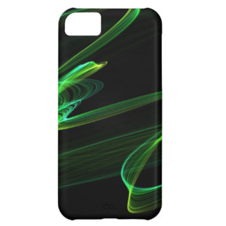 Malachite look abstract graphic iPhone 5C case