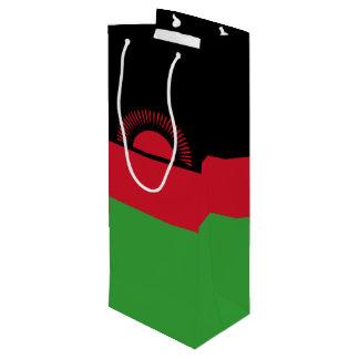 Malawi Flag Wine Gift Bag
