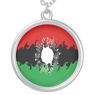 Malawi Gnarly Flag Necklace