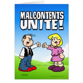 Malcontents Unite Card