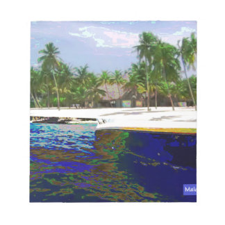 Maldive Islands photography Notepads