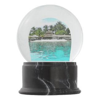 Maldives Snowglobe Snow Globes