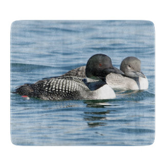 Male and Female Duck Pair Cutting Board