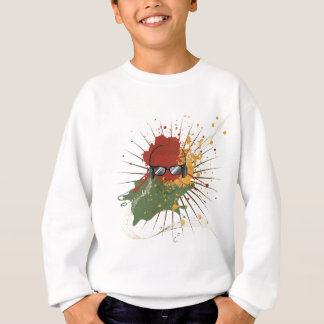 Male Dj Illustration Sweatshirt