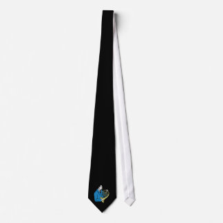 Male French Horn Player Blue Suit Tie