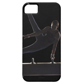 Male gymnast on pommel horse barely there iPhone 5 case
