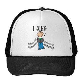 Male I Sing T-shirts and Gifts Hats